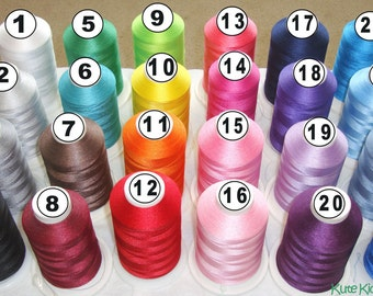 Thread Colors and Fonts from Kute Kiddo Embroidery and Wholesale-DO NOT PURCHASE