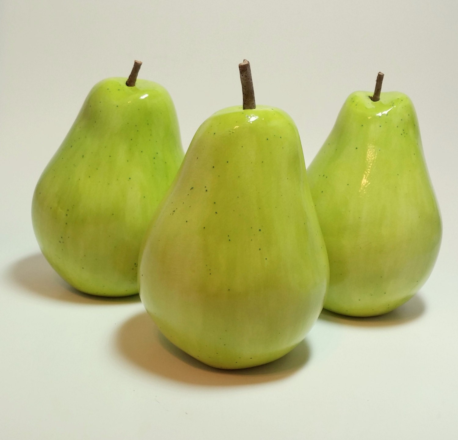 Pear home decor gold pears vase filler modern home decor Pear home decor