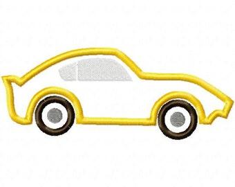 Car Embroidery Machine Applique Design 15063