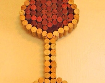 Wine cork Art Piece