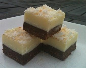 20 oz. Dark chocolate coconut fudge