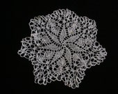Beautiful Lost Art Handmade KNITTED Lace Doily