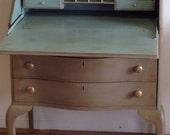 Hold for Stacy M./Vintage Desk/Slant Front