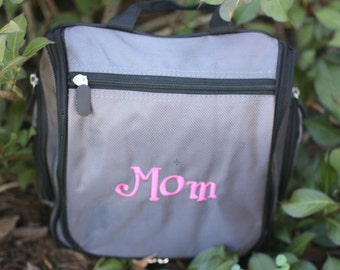 Personalized Doppler/Toiletry Kit - Embroidered Just For You!  Great for bridal party, travel, the gym, or the on-the-go athlete.
