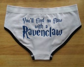 You'll Find no flaw with a Ravenclaw womens ladies Underpants Underwear