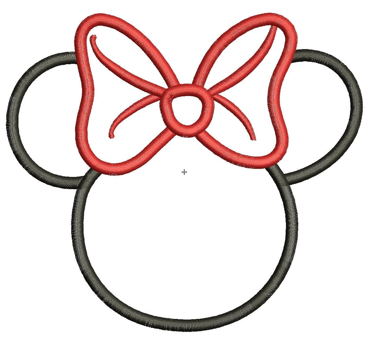 Minnie Mouse Head Template New Calendar Site