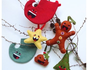 kawaii inspired limited edition christmas decorations