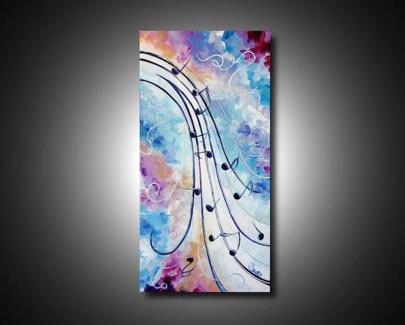 fr listing  notes de musique peinture art abstrait