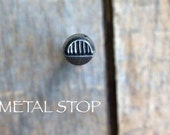 Citrus Slice - Metal Design Stamp great stamping supplies