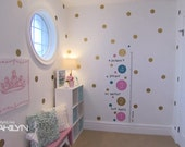 "Polka Dot Wall Decals 80 pieces 3"" diameter.  As featured on Marilyn Denis."