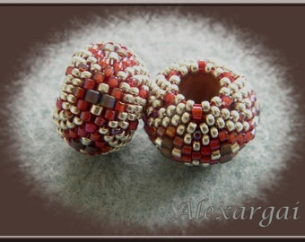 Pattern Micro Morbol Beaded Bead