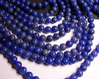 Aventurine - blue aventurine - 10mm round beads -1 full strand - 38 beads - quality  A