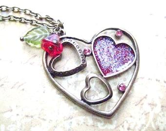 Valentine Jewelry-Heart Necklace