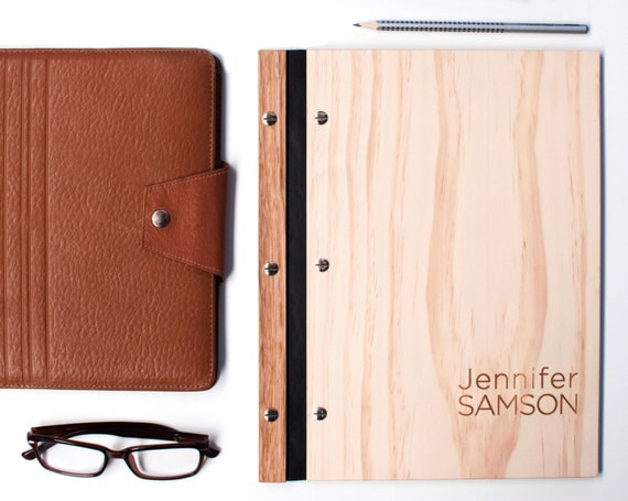 Like This Item?  Leather Resume Portfolio