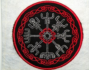 Vegvisir Iron on Patch