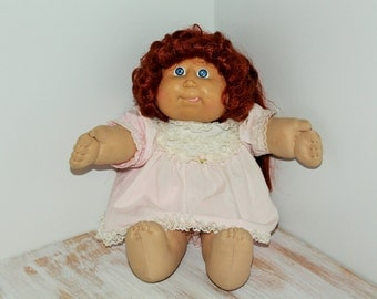 1985 Cabbage Patch Kid with Red Cornsilk Hair
