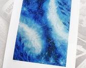 Art print - landscape - Blue Water -