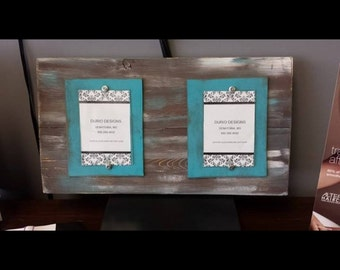 Double 4x6 Distressed Frame
