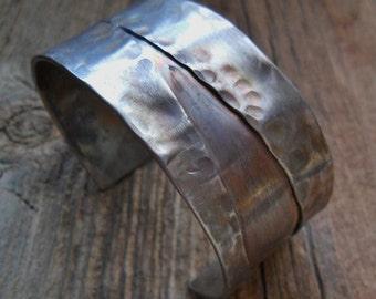 Stainless Steel Mens Womens Cuff Bracelet