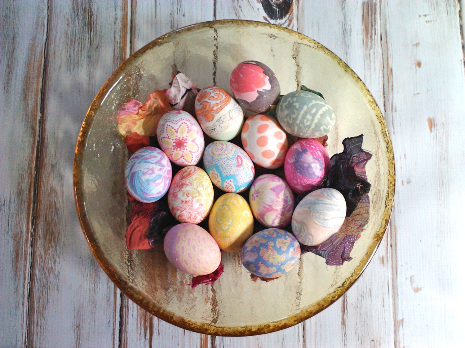 Easter Egg Silk Dye Kit Eco Friendly Up Cycled Kid Friendly