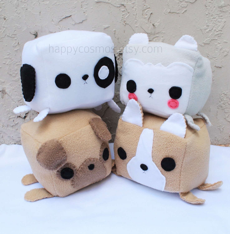 Dog Animal Plush Kawaii Plushie Cute Stuffed Animal