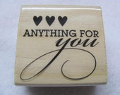 Anything For You Rubber Stamps - New Valentines Day