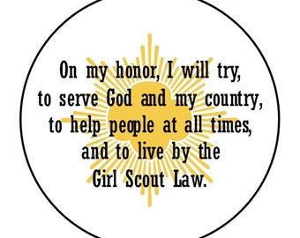Envelope Seals - Girl Scout Seals #3