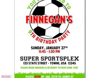 Soccer Invites