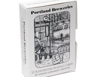 Portland Brewery Playing Cards