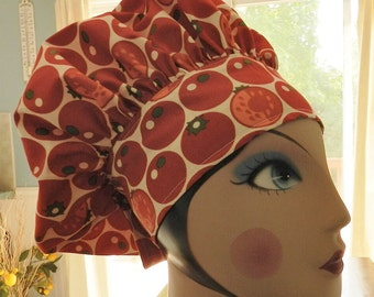 One Tomato Two Tomatoes  Original Chef Hat by Nurseheadwear