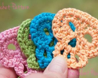 Sugar Skull Crochet, Skull Pattern, DIY Craft(21)