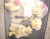 The VOGUE CRAFT BEAR Family Album Sewing Pattern #8958