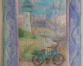 Lighthouse Quilt Wall Hanging