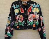 Wild Crazy and Absolutely Fabulous Embellished JACKET by Destination Other