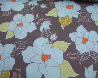 Gray Lula Main Fabric by the yard Lula Magnolia Quilted Fish Riley Blake Designs