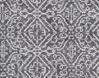 PRIYA GRAY ikat designer, decorator/drapery/bedding/upholstery fabric
