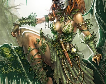 Voodoo Witch Doctor Poison Ivy