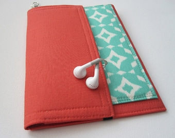 Tablet Keeper in Ikat for iPad, iPad Mini, iPad Air, Nexus 7, Kindle Fire, Nook and more