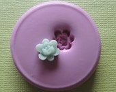 Tiny Rose Mold Silicone Open Flower Mould Resin Clay