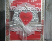 Greeting Card - cardsbycarla - My Heart Beats for You
