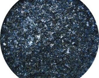 8.5 OZ Aventurine Blue Opal Medium Glass Frit - 96 COE