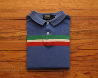 mens vintage made in USA Ralph Lauren Polo shirt