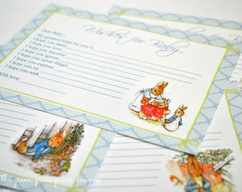 Beatrix Potter Peter Rabbit Wishes for Baby Cards