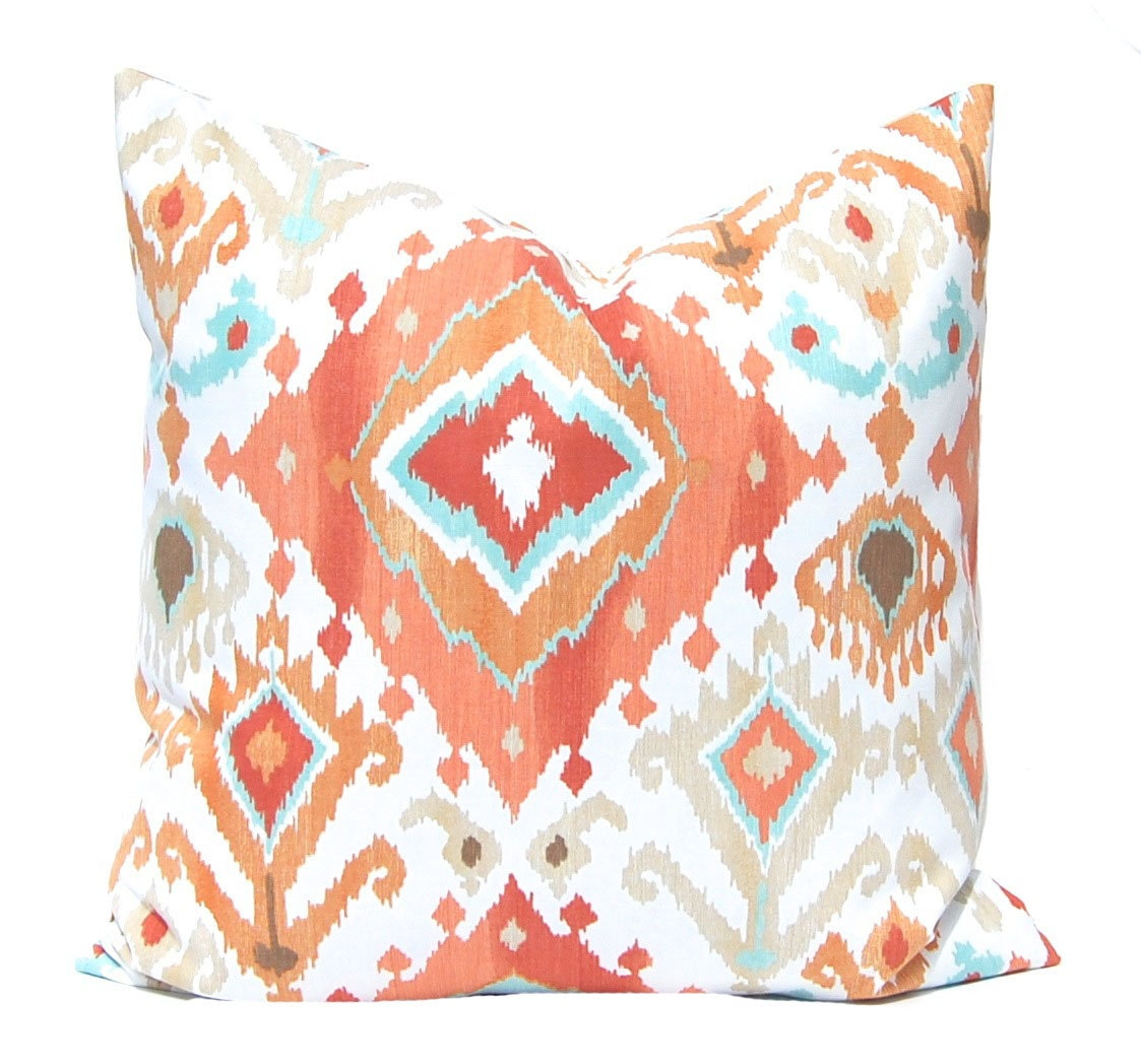 Throw Pillow Euro Sham : Euro Sham Orange Pillow Throw Pillow Cover by CompanyTwentySix
