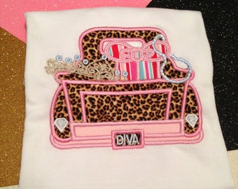Diva Truck sizes 18 months up to size 14