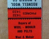 1940s Roswell Wool Mohair Co Abe Mayer Jr New Mexico Racist Stereotype