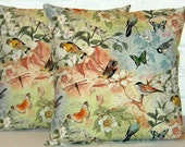 Birds Of A Feather Pillow Cover