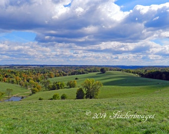 Husher Park in Wisconsin Landscape Photography Wall Art Home Decor Fine Art Photography