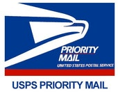 Priority Mail Shipping Upgrade 2-3 Days, USA only