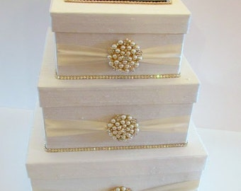 Wedding Card Box, Bling Card Box, Money Holder, Wedding Money Box  - Custom Made